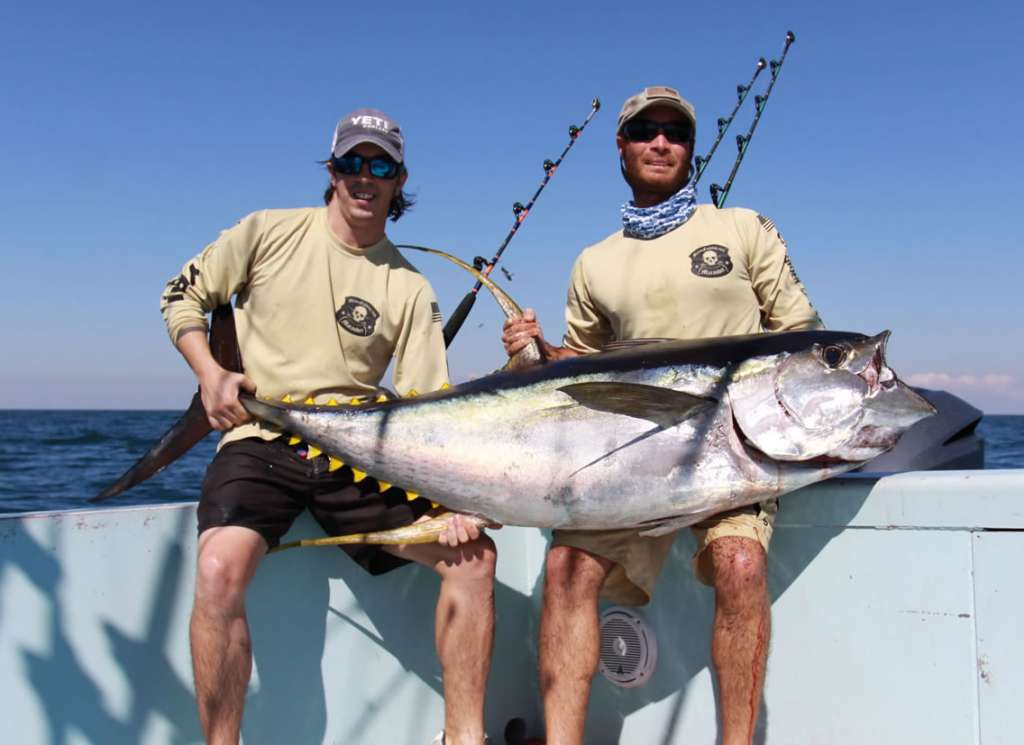 597b9aa1d23e7 Former owners of the Miami fishing charter boat Marauder – Capt. Charlie  Ellis and Todd Malicoat have fished around the world in pursuit of big game  ...