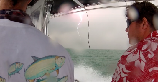 Key Biscayne Lightning Strike