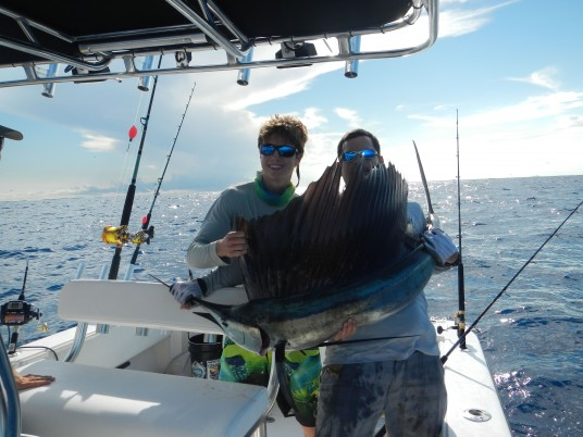 Devon Tounjian First Sailfish