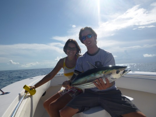 Todd Malicaot with a nice Skipjack Tuna