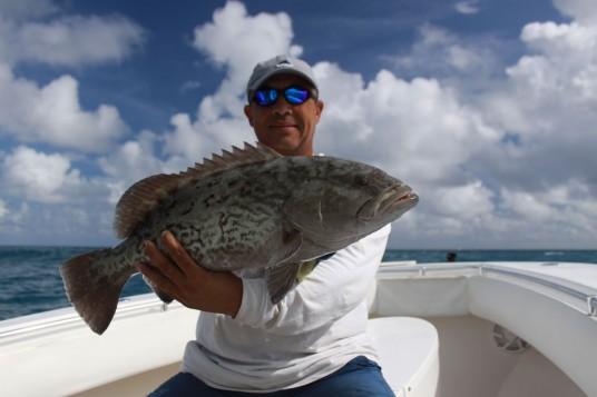 Grouper Fishing off Miami - Reef Fishing Trip