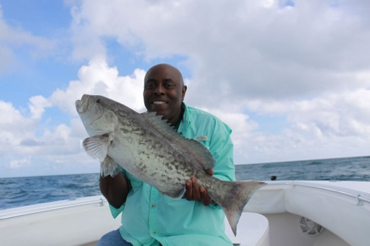 Grouper Fishing off Miami - Bottom Fishing for Grouper