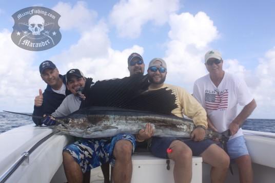 Deep Sea Fishing Miami for Sailfish