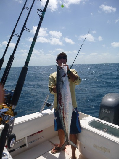 Big Miami Kingfish caught by Capt. Charlie Ellis of Miami, FL