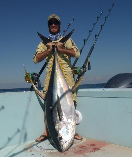 Capt Charlie Ellis of Miami, FL yellowfin tuna
