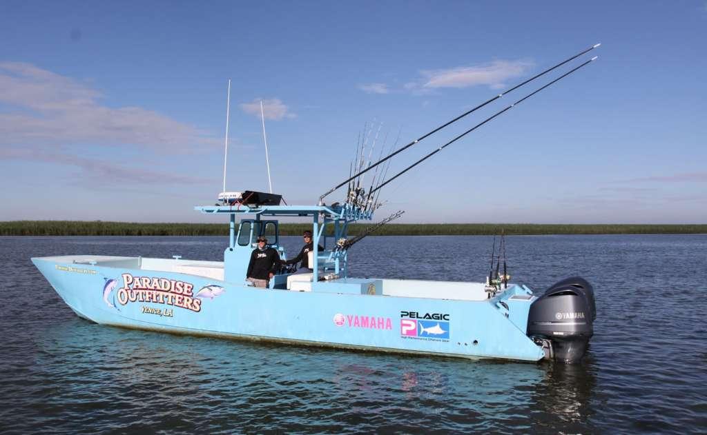 Venice louisiana fishing round 2 giant yellowfin tuna for Venice louisiana fishing charters