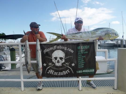 Caught aboard the Marauder of Miami, FL