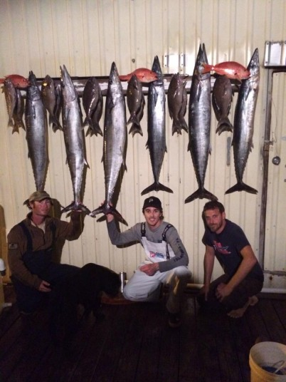 Trophy Rack with Scott, Nick, and Capt. Charlie