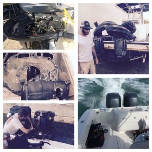 Rebuilding Yamaha 225 Engines
