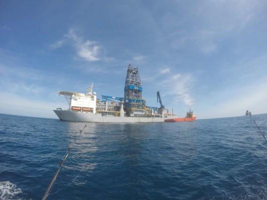 drilling ship noble near URSA