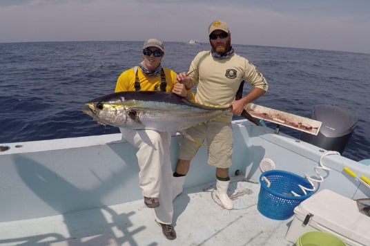 tuna that ate two baits